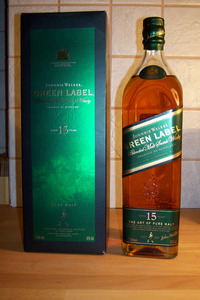 Виски Johnnie Walker Green Label 15 years old